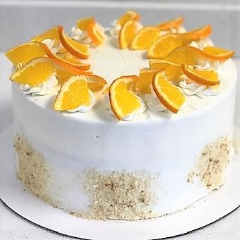 Orange Dream Cake Sweet Blossoms