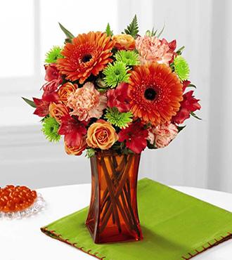 Orange escape vase/orange