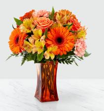 Orange Essence vase