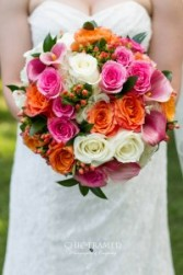 ORANGE GALA Bridal Bouquet