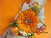 Orange Gerber Corsage Corsage