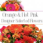 Orange & Hot Pink