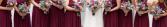 Orange & Hot Pink Inspiration  Wedding Party Flowers