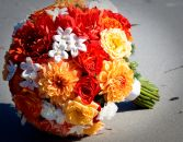 ORANGE OPULENCE Bridal Bouquet