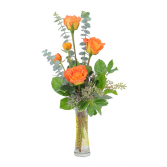 Orange Simplicity Arrangement