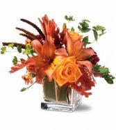 Orange Spice Fall Arrangement
