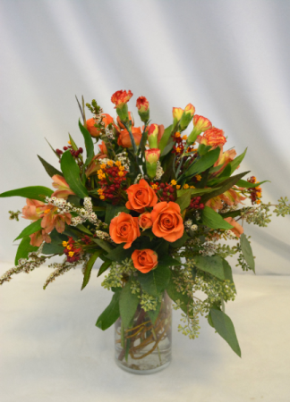ORANGE TWIST Fresh Arrangement
