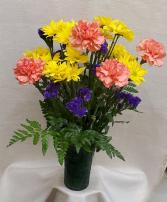 Orange & Yellow Mixed Bouquet