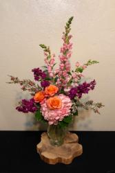 Orange You Beautiful! Vase Arrangement