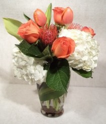 Orange You Glad Fresh Cut Vased Design