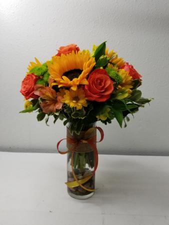 Orange You Happy Flower Arrangement