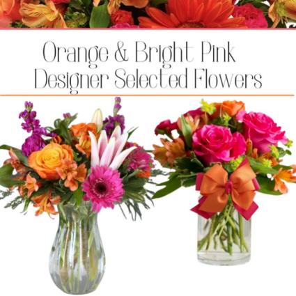 Orange/Bright Pink-Designer's Choice