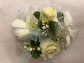 Orchid and Roses Corsage
