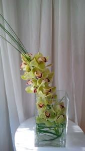 Orchid Beauty Vase arrangement