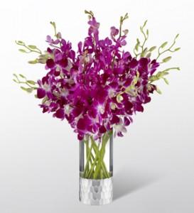 Orchid Bouquet by Vera Wang  Fresh Arrangement