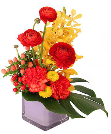 Orchid Cascade Floral Design