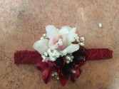 Elegant Orchid Wristlett