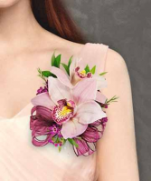 ORCHID CORSAGE Pin on Corsage