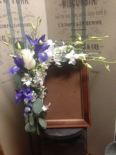 Orchid Floral Frame Sympathy