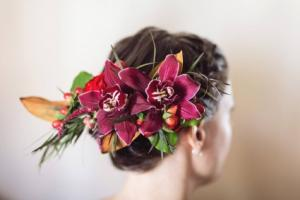 Orchid Hair Clip Prom or Wedding Hair Piece in Colts Neck, NJ | A COUNTRY FLOWER SHOPPE AND MORE
