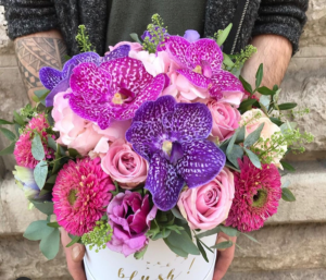 Orchid Hat box   in Ozone Park, NY | Heavenly Florist