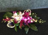 Orchid Indulgence Dish Arrangement