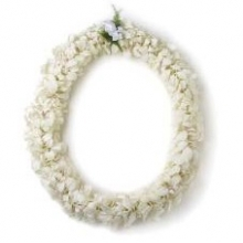 White Orchid Leis 10 days Notice Required