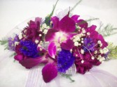 Orchid Me Prom Wrist Corsage