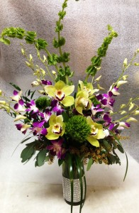 Orchid mix assorted flowers