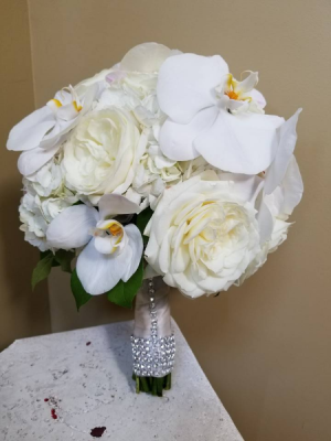 Orchid Paradise Bouquet Bridal Bouquet in Highland Mills, NY | Scepter Brides Flowers