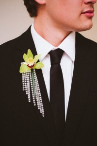 Orchid River Boutonniere