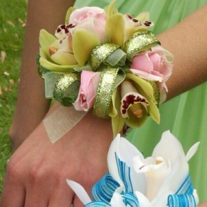 Orchid Rose Corsage Enchanted Florist