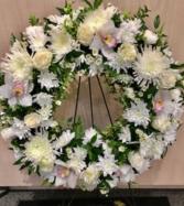 Orchid serenity wreath  Wreath