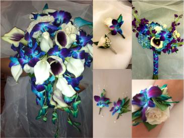 Orchid Wedding Set
