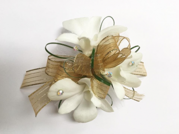 Orchid Wrist Corsage