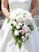 Orchids and Roses Bridal Bouquet