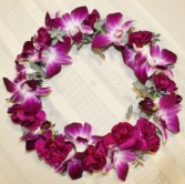 Orchids & Carnations Flower Crown
