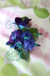 Orchids designer bracelet Prom flowers