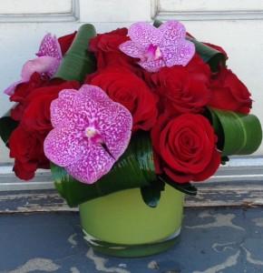 Orchids for a Special Day Vase Arrangement