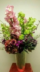 Orchids & Hydrangeas