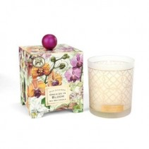 Orchids In Bloom Candle