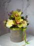 Orchids in Garden Roses Green