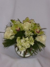 "ORICHIDS IN WINTER WONDERLAND ""Holiday Flowers Prince George"""