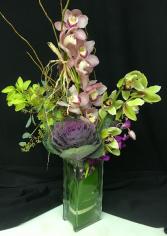 Orchids & Kale
