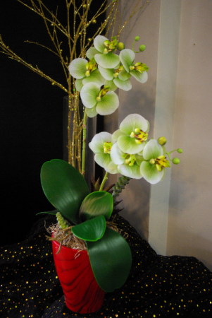 Orchids Silk Arrangement
