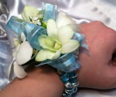 Tantalizing Teal Corsage T&V Exclusive