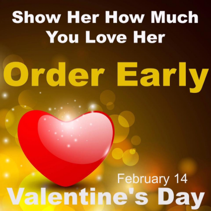 Thursday, Feb. 14 Go to our Valentine's Day Page!