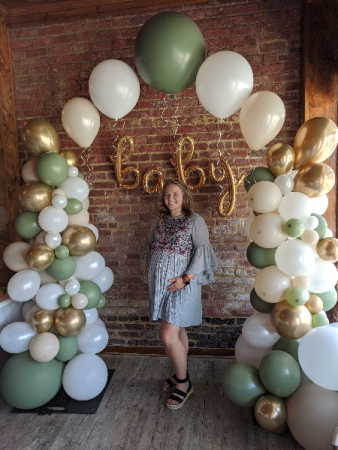 Organic Balloon Colunms