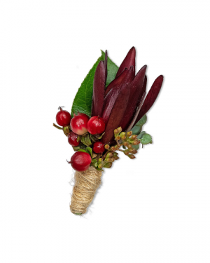 Organic Boutonniere Corsage/Boutonniere in Nevada, IA | Flower Bed