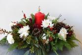 Organic Christmas Centerpiece